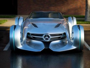 Mercedes-Benz Silver Arrow Concept: Vissza a jövőbe!