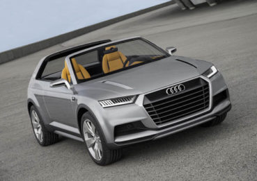 Audi Crosslane: Jövő-menő