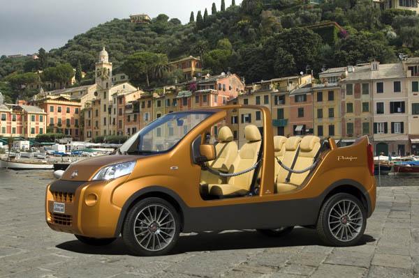 Fiat Fiorino Portofino: Tenger-party