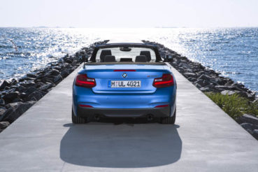 BMW 2-es Cabrio: Under construction