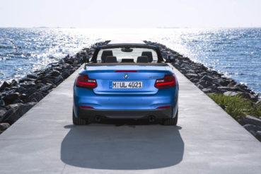 BMW 2-es Cabrio: Under construction