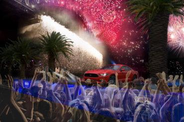 Ford Mustang: Szilveszter éjjel sztárja