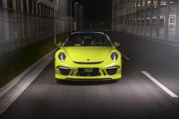 Techart Porsche 911 Targa: Színezd újra!
