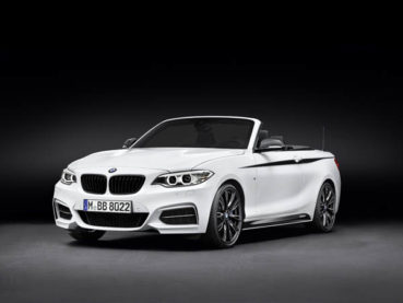 BMW 2-es Cabrio: M Performance csomag