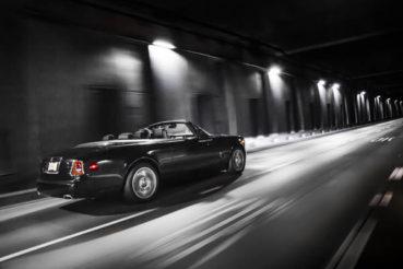 Rolls-Royce Phantom Drophead Coupé Nighthawk: Éjszakai repülés