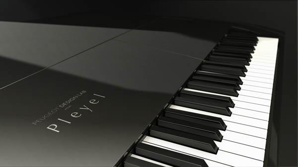 Peugeot Design Lab - Pleyel zongora