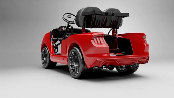 Caddyshack Golf Mustang