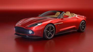 Aston Martin Vanquish Zagato Volante: Megskalpolva