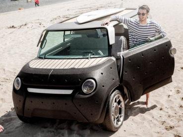 Toyota Me.We: Minimál design