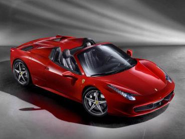 Ferrari 458 Spider: Mestermunka