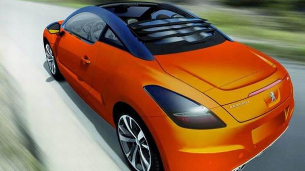 Peugeot RCZ Roadster: Idegen tollak