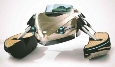 Kormoran trimarán: motorcsónak transformers