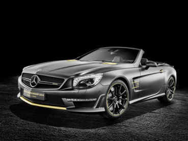 "Mercedes-Benz SL 63 AMG ""World Championship 2014 Collector's Edition"": Bajnoki babérok"