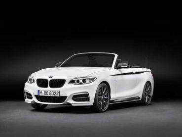 BMW 2-es Cabrio: M Performance csomag