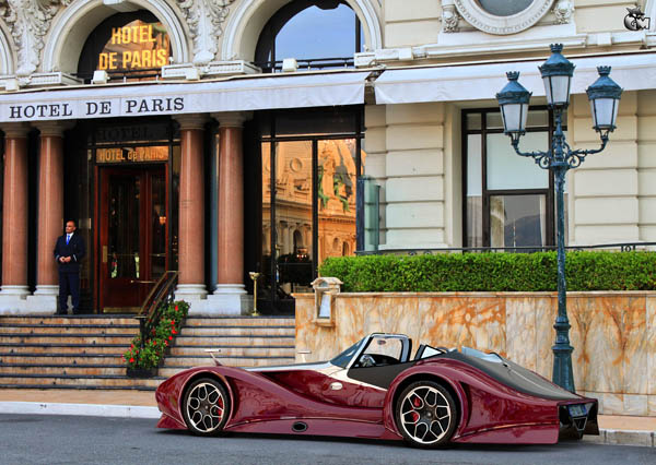 Bugatti 12.4 Atlantique Grand Sport Concept: Úri múri