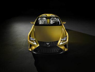 Lexus LF-C2: Időutazó