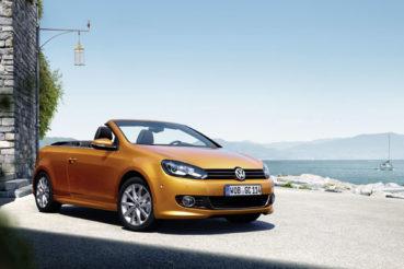 Volkswagen Golf Cabriolet: Válogatott újdonságok