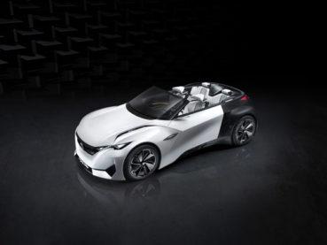 Peugeot Fractal: Light-top