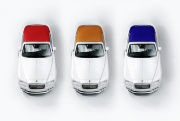 Rolls-Royce Dawn: Inspired by fashion