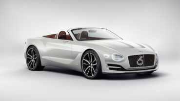 Bentley EXP12 Speed 6e: Elektromos előfutár