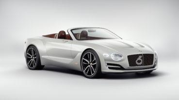Bentley EXP12 Speed 6e: Elektromos előfutár